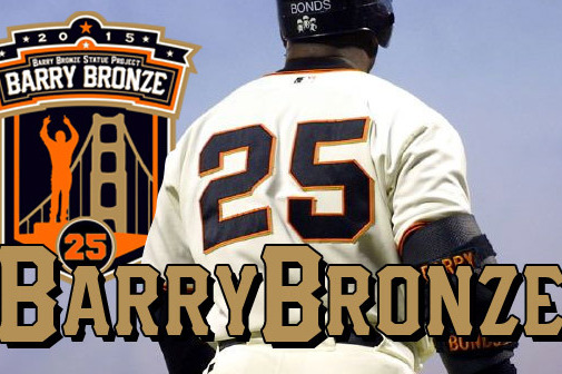 Giants Fans Start Kickstarter Campaign to Build Bronze Barry Bonds Statue