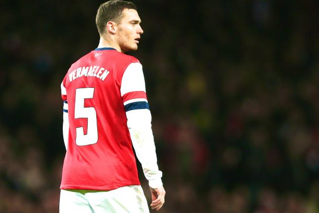 Barcelona Transfer News: Thomas Vermaelen War Looms with Manchester United