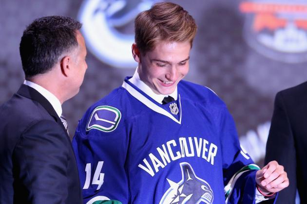 Canucks Sign Forward Jake Virtanen