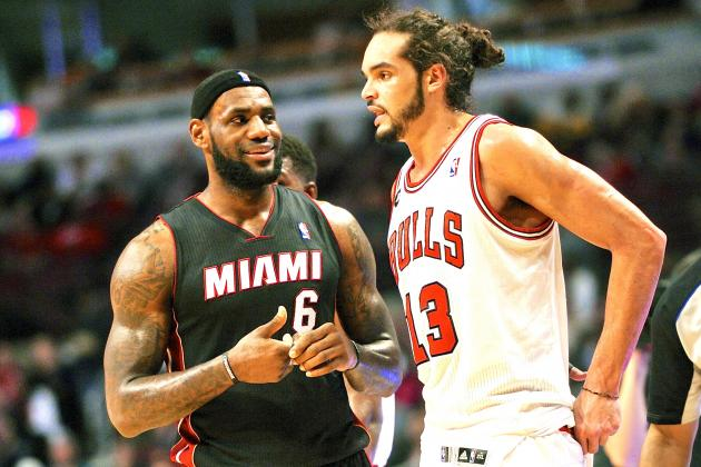 Joakim Noah Is Happy for LeBron James, but Not That Happy
