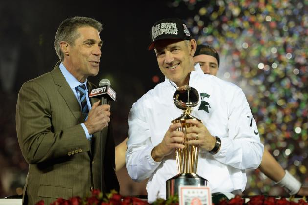 Spartans Looking for Bigger Step in 2014: College Football Playoff