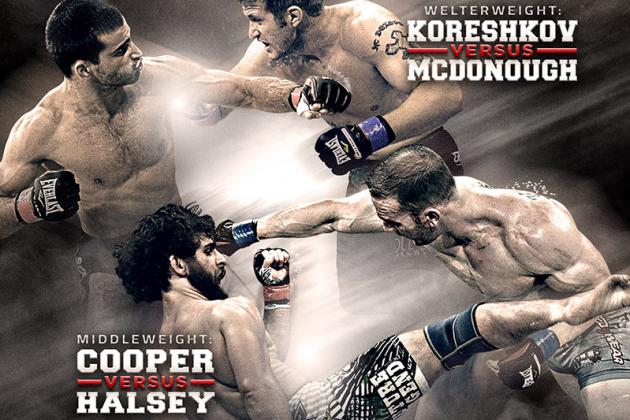 Bellator 122: Results and Recaps from Andrey Koreshkov vs. Adam McDonough