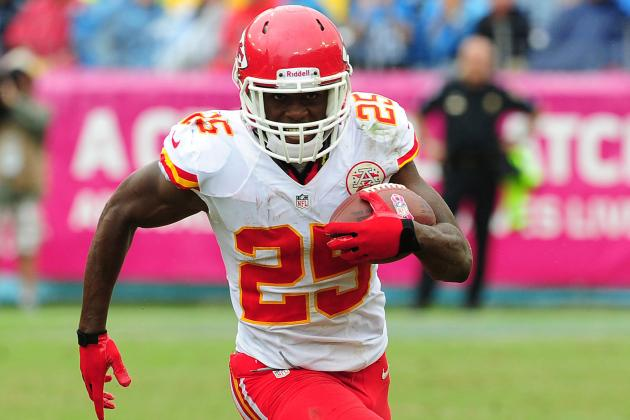 Jamaal Charles Injury: Updates on Chiefs Star's Foot and Return