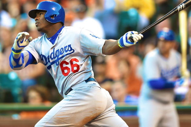 Yasiel Puig Answers Doubters with Record-Setting 3-Triple Night
