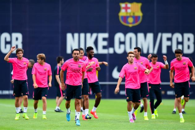 Nice vs. Barcelona: How Barca Will Line Up in Pre-Season Friendly