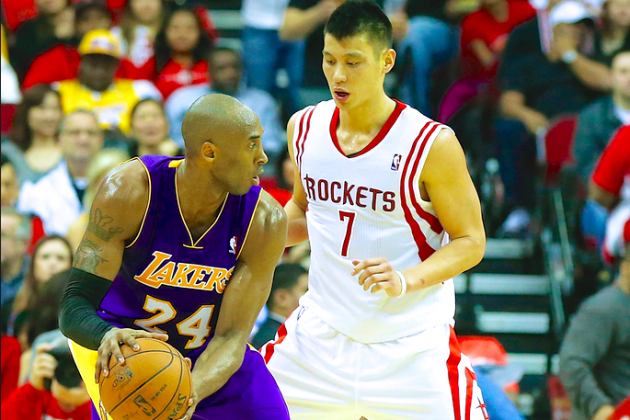 How a Kobe Bryant and Jeremy Lin Backcourt Can Work for LA Lakers