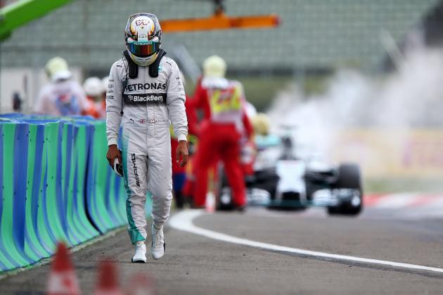 Lewis Hamilton's Speed Advantage over Nico Rosberg Wiped out by Bad Luck