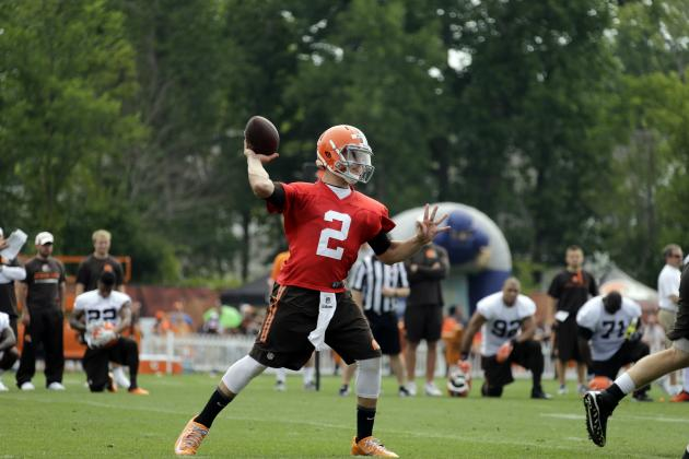 Johnny Manziel Is Right Choice to Start Week 1 for Cleveland Browns