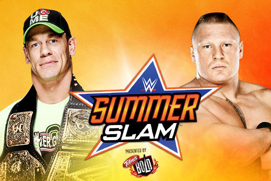 WWE SummerSlam: John Cena vs. Brock Lesnar Is a Battle of the Polarizers