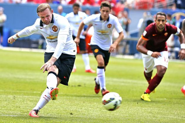 Roma vs. Manchester United: International Champions Cup Live Score, Highlights