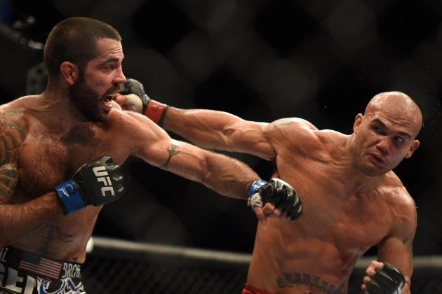 UFC on Fox 12 Results: Winners and Scorecards from Lawler vs. Brown Fight Card