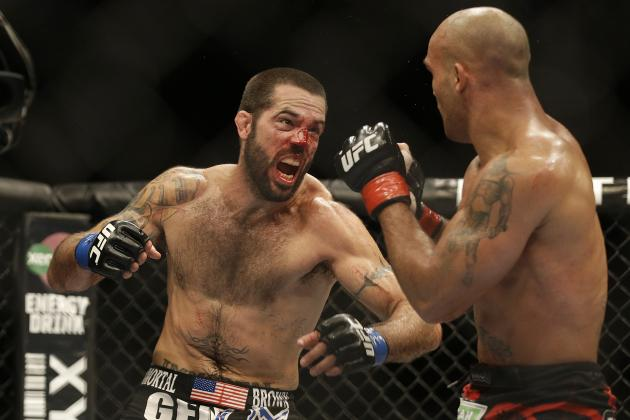 Matt Brown Transported to Hospital Following Loss