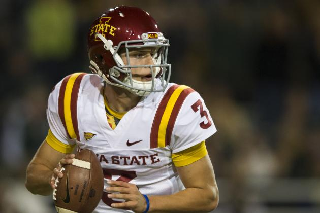 Football: Cyclones Seeking More from QB's