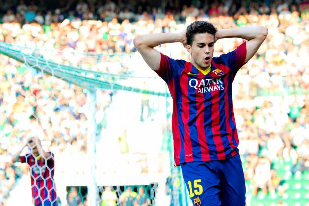 Is There Still a Place for Marc Bartra in Luis Enrique's Barcelona Revolution?