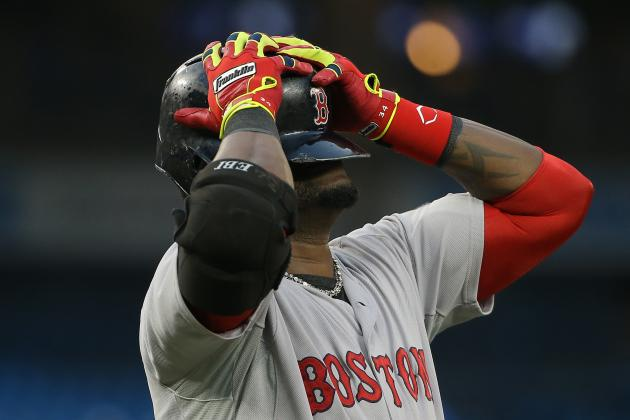 Ortiz, Lackey Vexed by Red Sox Decision Not to Challenge Close Play