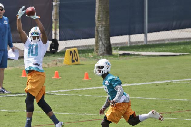 Dolphins Lose Two Starters for Part of Practice