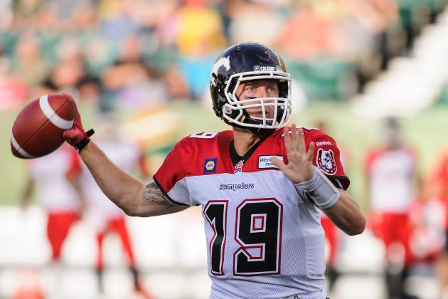 CFL 2014 Week 5: Final Scores, Latest Standings and Week 6 Schedule