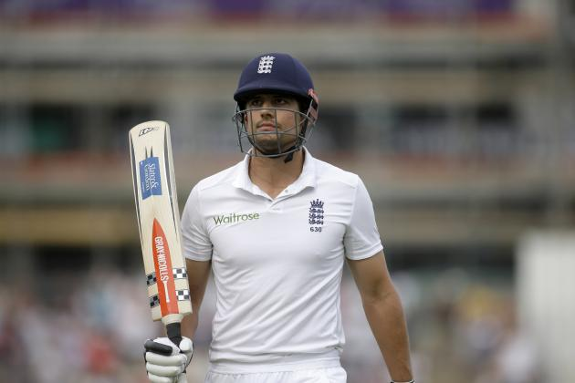 Alastair Cook's 95 vs. India: England Captain Hasn't Escaped His Slump Just Yet