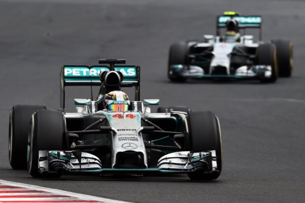 Lewis Hamilton's Battle with Nico Rosberg Turns Nasty at 2014 Hungarian GP