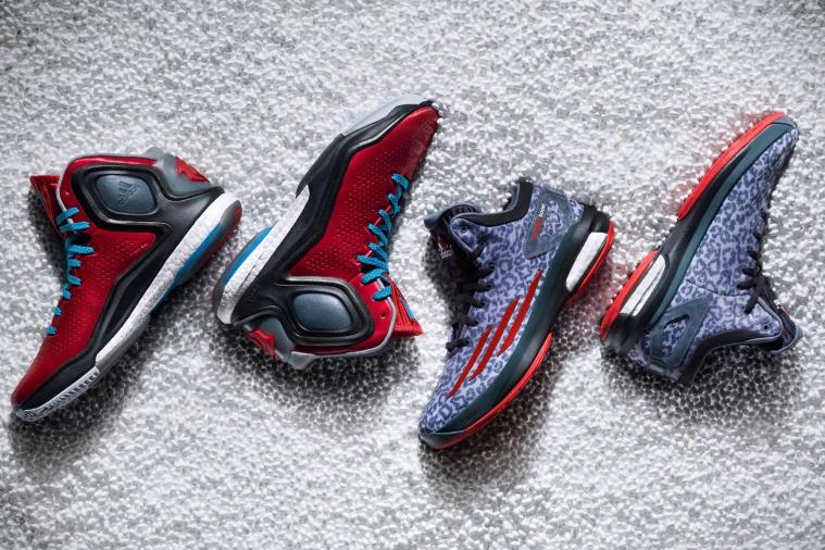 Rose and Lillard Unveil Adidas' 'D-Rose 5 Boost' and 'Crazylight Boost' Kicks