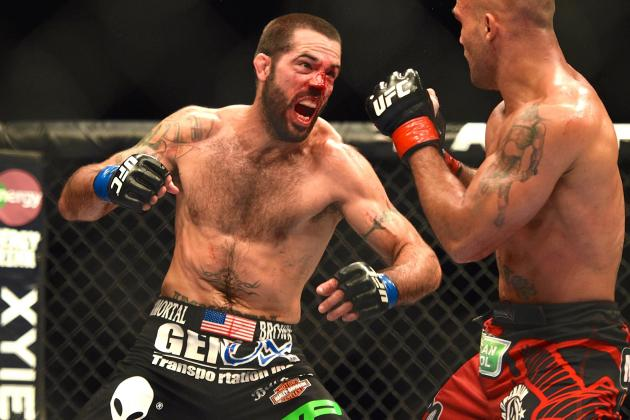 UFC on Fox 12 Results: 3 Fights for Matt Brown to Take Next