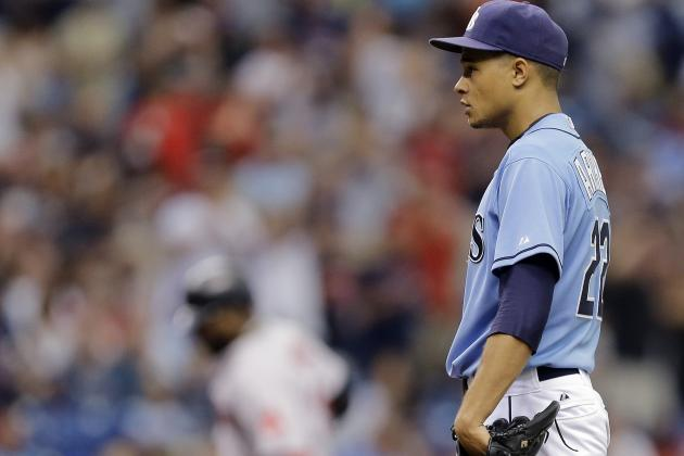 Chris Archer Not a Fan of David Ortiz Admiring His Home Run