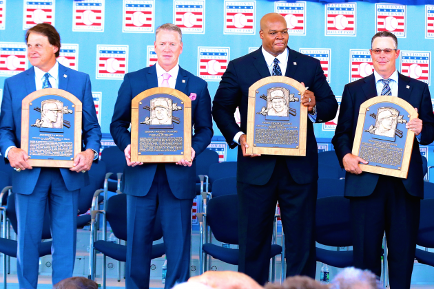 Thomas, La Russa, Torre and Braves Trio Bask in Timeless Magic of Cooperstown
