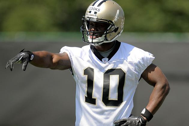 Saints Receiver Cooks Drawing Rave Reviews in Training Camp