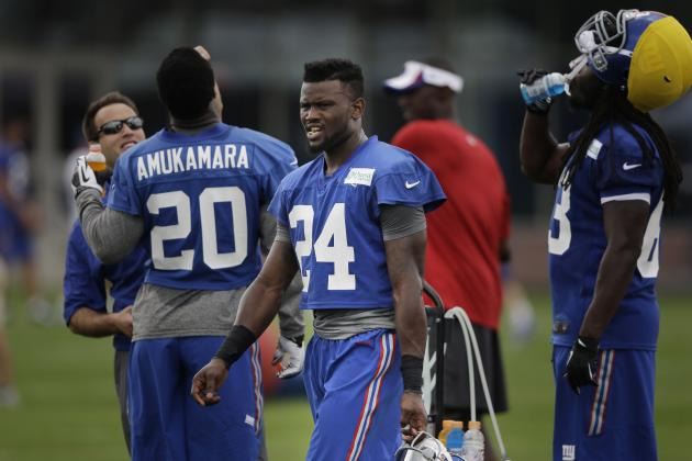 Giants Camp Report: Day 5