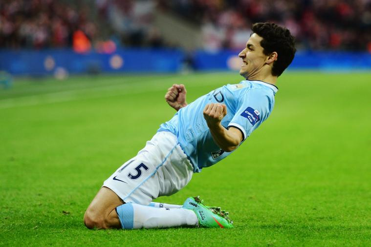 Manchester City Tried Using #AskJesus Hashtag for Interview with Jesus Navas