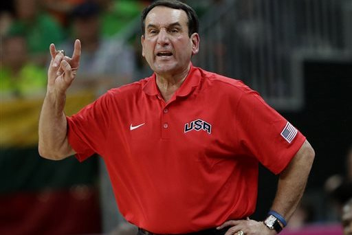 Mike Krzyzewski Discusses Team USA, LeBron James and More with Yahoo Sports
