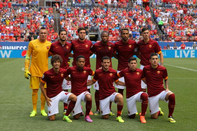 Roma vs. Real Madrid: How Giallorossi Will Line Up in ICC