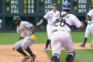 Pittsburgh Pirates' Josh Harrison Jukes Wilin Rosa…