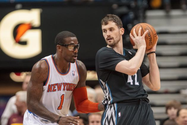 Report: Knicks Offered Stoudemire, Hardaway, Shumpert for Love