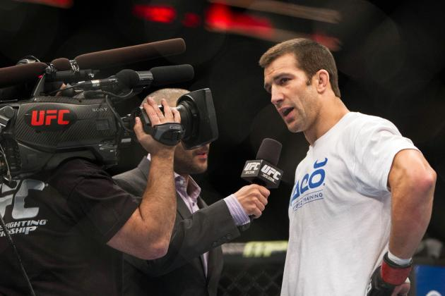 Luke Rockhold: 'There's No Way in Hell' Belfort Makes It to Fight with Weidman
