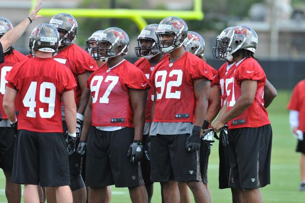 Buccaneers Sweating It out This Training Camp