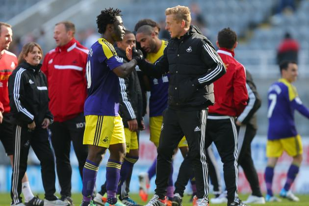 Liverpool Transfer News: Wilfried Bony Warning Dished out by Garry Monk