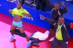 Watch: 'Pull Your Pants Down' Table Tennis Celebration