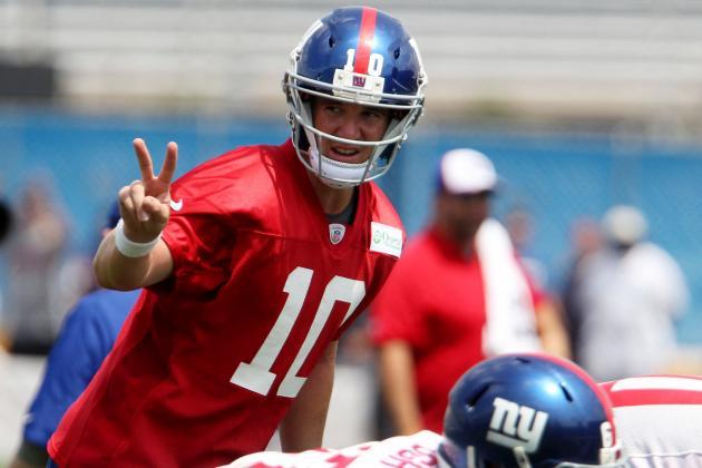 Giants Set Lofty 70 Percent Goal for Manning