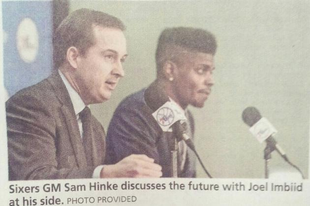Report: South Jersey Newspaper Mistakes Nerlens Noel for 'Joel Imbiid'