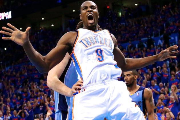 Serge Ibaka Talks Recovery, Lessons from the Spurs, OKC Future and Derek Fisher