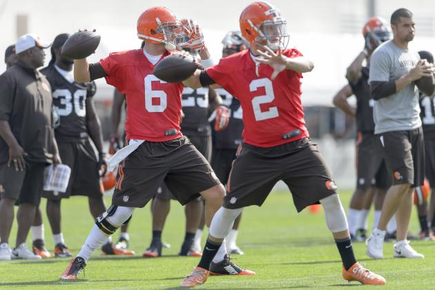 Johnny Manziel Has Plenty of Time to Unseat Brian Hoyer as Browns Starter
