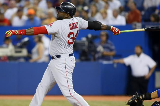 Watch: Papi Holds Pose After Whiffing on Dickey Knuckler