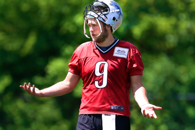 Why Matthew Stafford Faces the Most Pressure of Any NFL QB in Training Camp