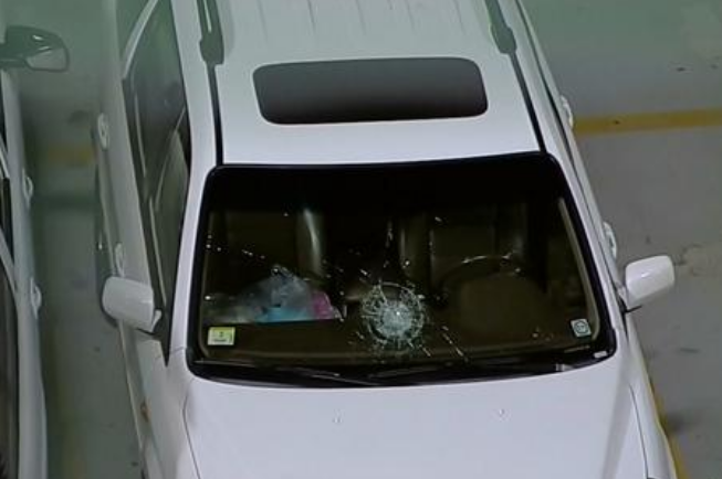 Melky Cabrera Blasts a Home Run, Smashes Car Windshield