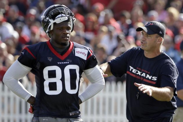 Andre Johnson Injury: Updates on Texans Star's Hamstring and Return