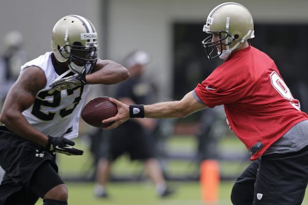 Saints Gaining Faith in Their Run Game