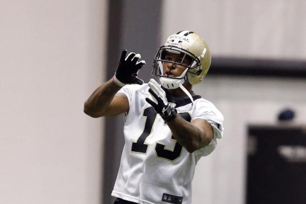 Saints Receiver Joe Morgan Showing Progress in Return from Knee Injury