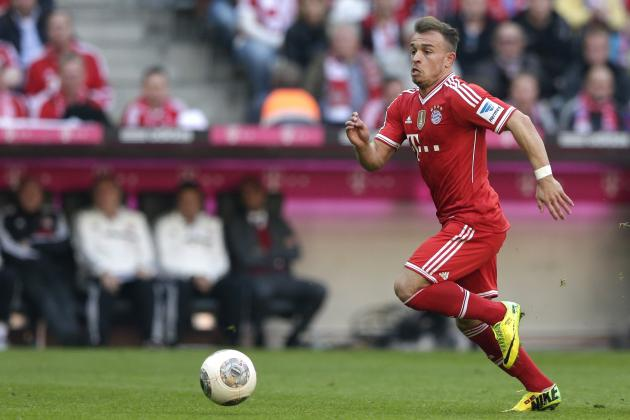 Xherdan Shaqiri Transfer Rumours: Latest Speculation Surrounding Bayern Star