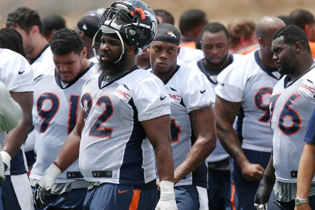 Denver Broncos Showing off Ridiculous Defensive Line Depth at Camp